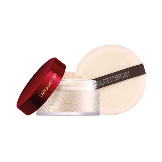 Set For Luck Translucent Setting Powder with Puff,