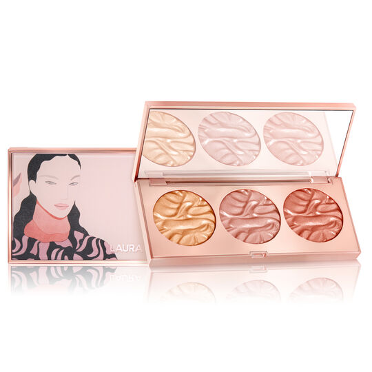 Paint with Light Golden Face Illuminator Trio,